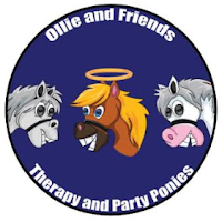 Ollie & Friends Therapy & Party Ponies Logo