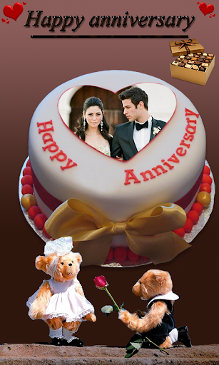 Anniversary Cake Ideas-Couple Photos on Cake 1.2 screenshots 3