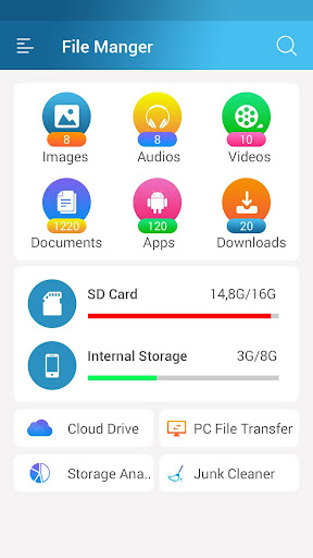 File Manager - File Explorer for Android 1.36 screenshots 1