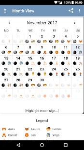 Moon Calendar - Moony - náhled