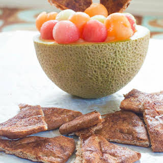 Cinnamon Sugar Pita Chips.