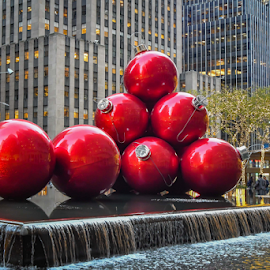Christmas Orniments by Darren Sutherland - Public Holidays Christmas ( 2017, trip, new york, new york trips )