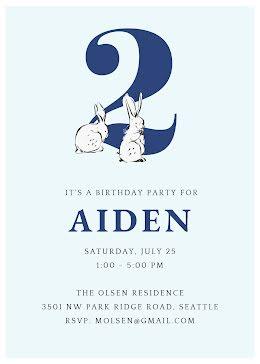 Aiden's 2nd Birthday - Birthday item