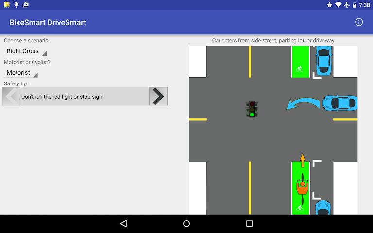 android BikeSmart-DriveSmart Screenshot 8