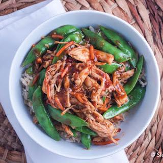 Slow Cooker Spicy Hoisin Chicken Thighs.