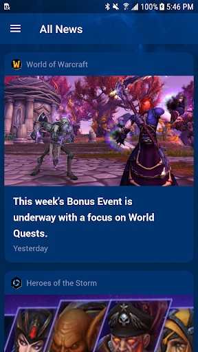 Blizz Newsfeed 0.5.3 screenshots 2