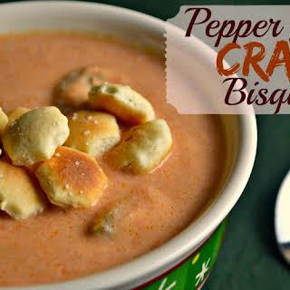 Pepper Jack Crab Bisque.