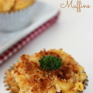 Macaroni and Cheese Muffins.
