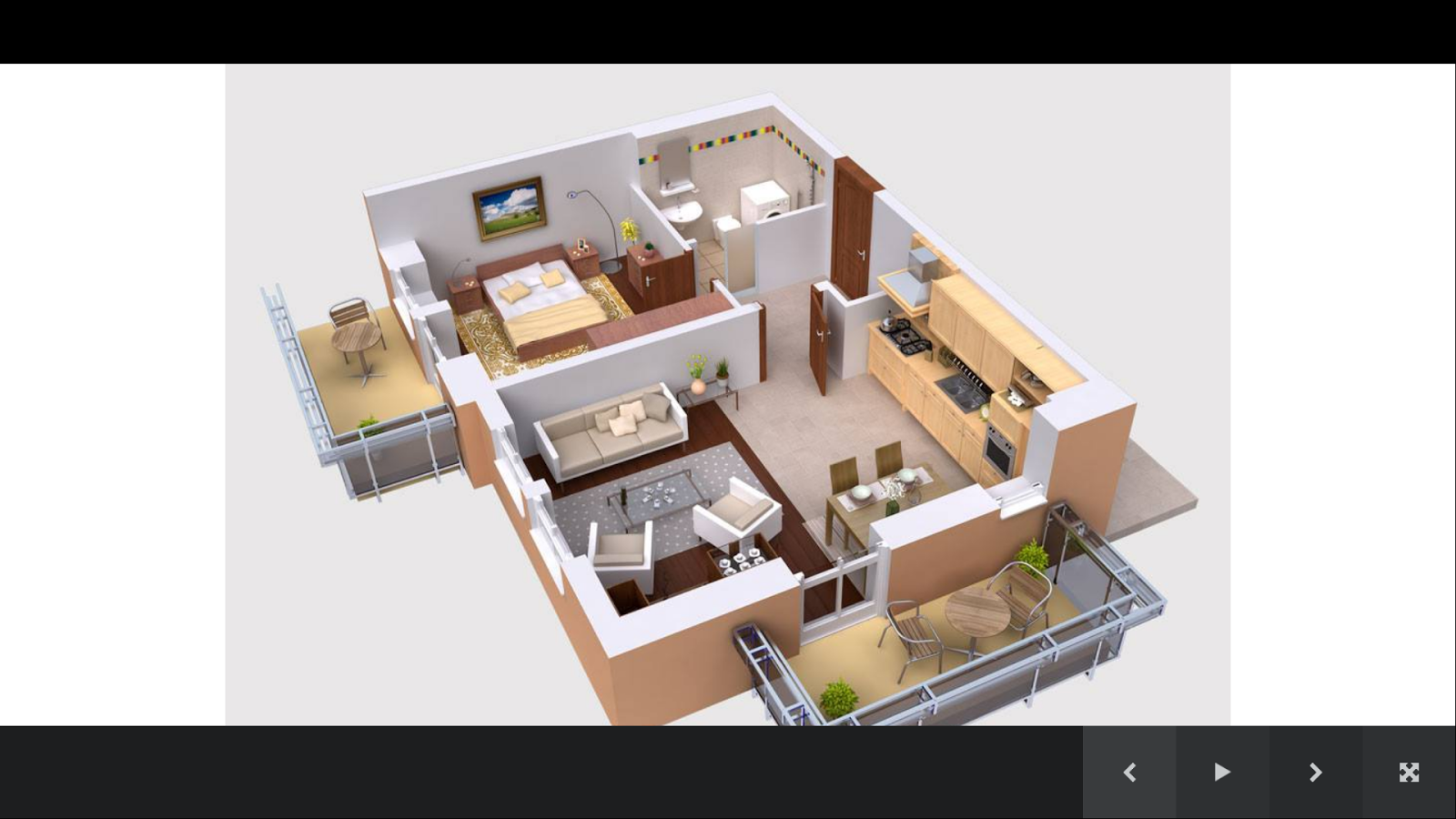 3d house plans screenshot