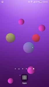 Colorful Bubble Live Wallpaper screenshot 2