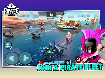 Pirate Code - PVP Battles at Sea Screenshot