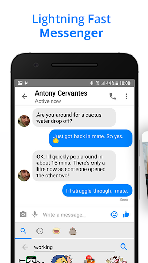 Messenger for Messages, Text and Video Chat 2.77 screenshots 2