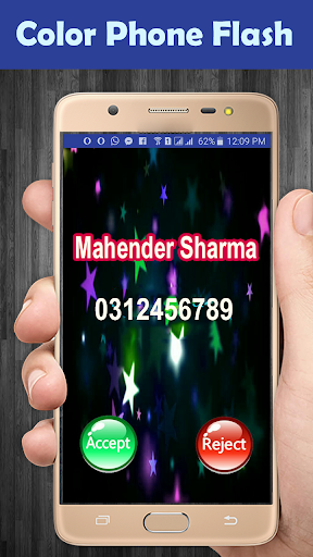 Call Screen Theme - Color Phone Call Flash for PC