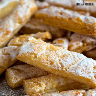 Puff Pastry Finger Biscuits.