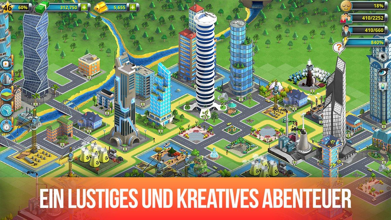 Aufbauspiele Android