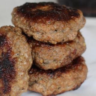 Homemade Pork Breakfast Sausage.