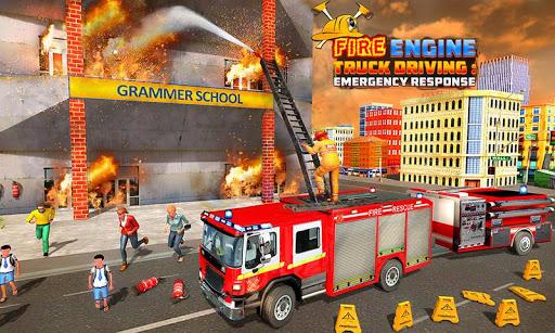 Fire Engine Truck Driving : Emergency Response 1.0.1 screenshots 4