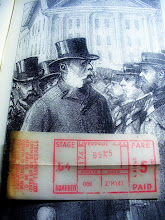 Photo: A WWII-era (1941) Liverpool bus ticket found in a book on the Life of General Gordon (printed ~1890s).