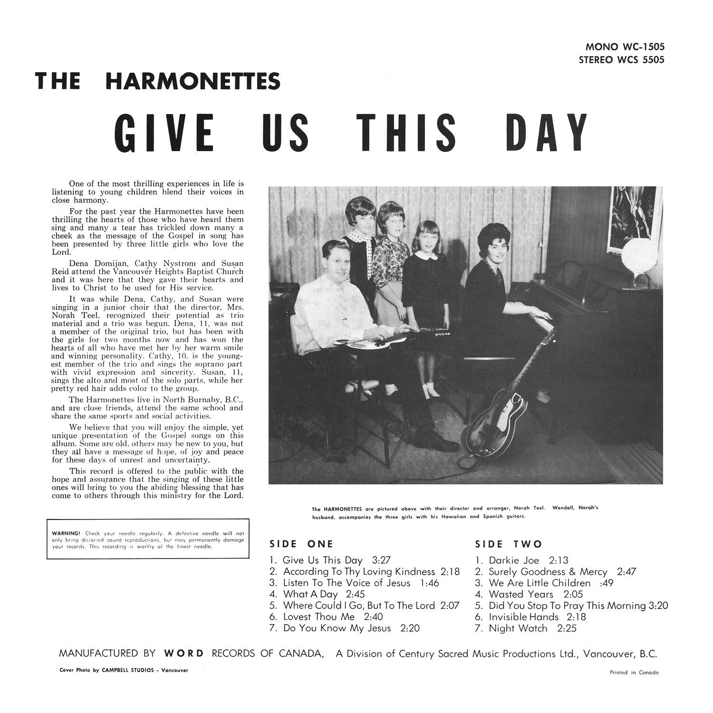 The Harmonettes