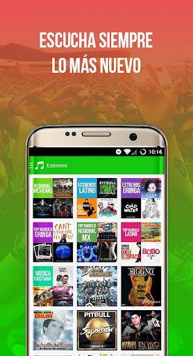 Radiulo Free Mexican music and Mexican radio 6.1.1 screenshots 4