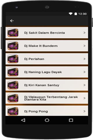 لقطات شاشة Dj Truk Oleng 2020 7