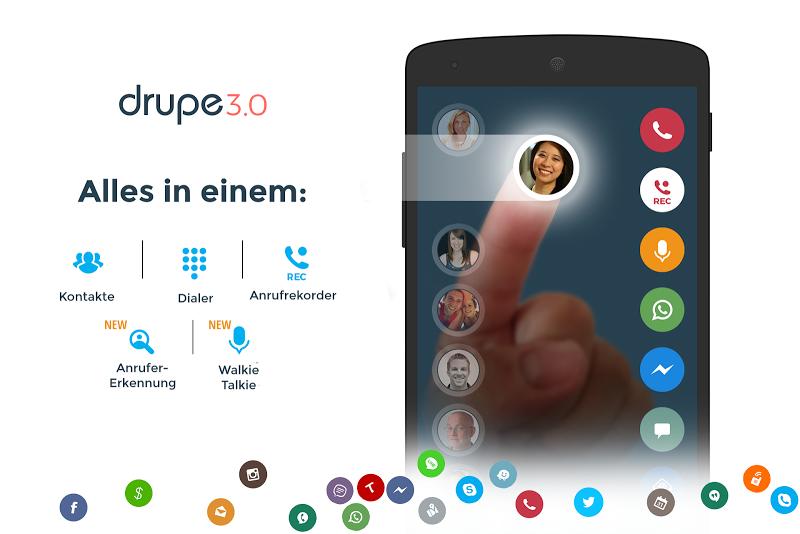Contacts, Phone Dialer & Caller ID: drupe v3.050.00005-Rel [Pro] SAP APK [Latest]