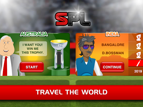 Stick Cricket Premier League Screenshot