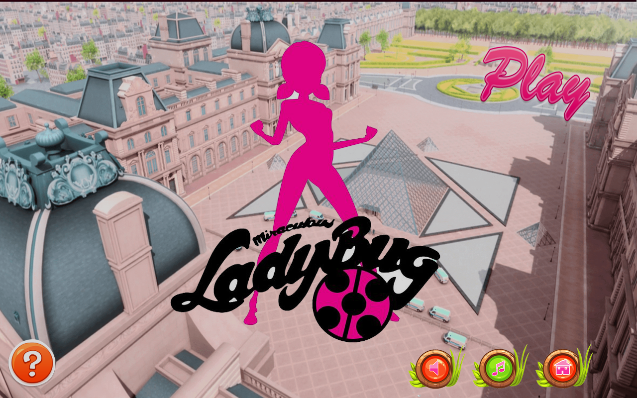 LadyBug Miraculous Adventure- screenshot