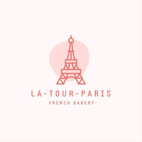 La Tour Paris French Bakery - Logo Template