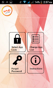 Me Secure Mobile Security - náhled