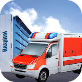 Drive Rescue Ambulance Sim 3D