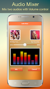 Audio MP3 Cutter Mix Converter Screenshot