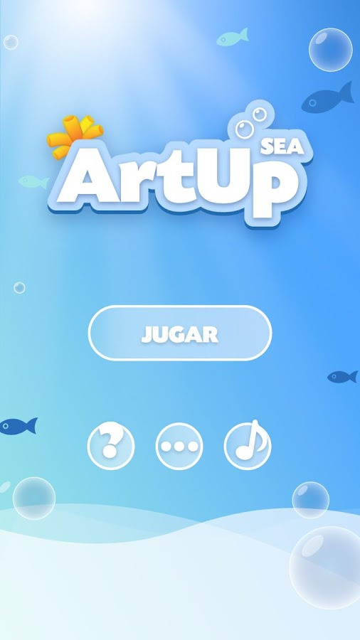 ArtUp Sea: captura de pantalla