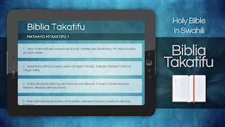 Biblia Takatifu Ya Kiswahili Swahili Bible Apk Download Free App For Android Safe
