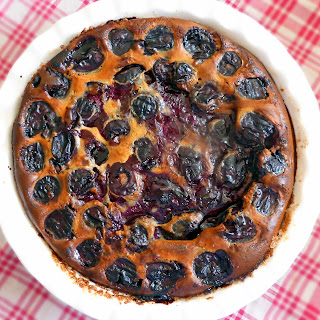 Fresh Cherry Clafoutis