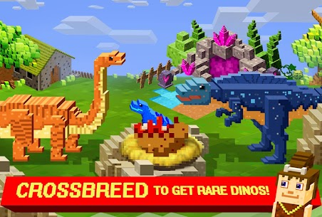 Jurassic Pixel Craft: dino age 9