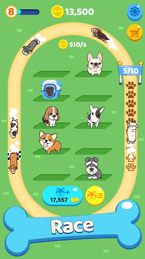 Screenshot 2 Merge Dogs 1.3 APK MOD
