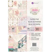 Prima Double-Sided Paper Pad A4 30/Pkg - Golden Coast UTGÅENDE