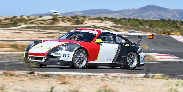 Miguel Ángel Clemente, con Porsche
