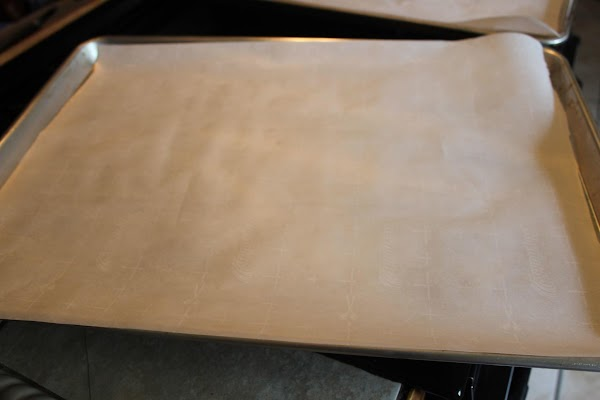 Preheat oven to 375 degrees.  Line baking sheets with parchment paper and set...