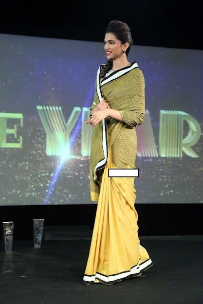 Deepika Padukone saree chennai express, Deepika Padukone hot saree photos