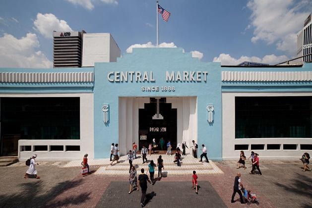 Hasil gambar untuk central market kuala lumpur
