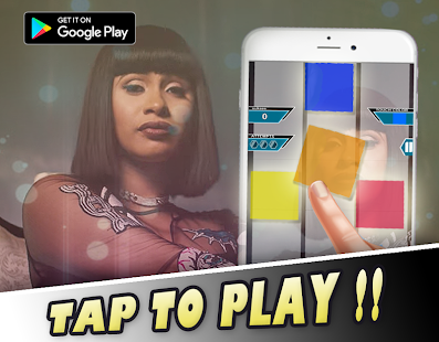 BODAK YELLOW by Cardi B - Piano Tiles