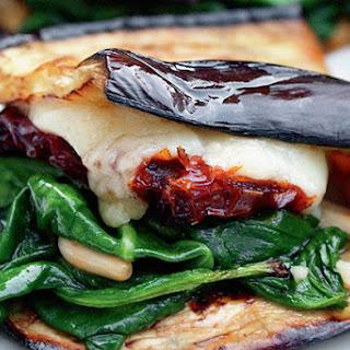 Eggplant Wraps.
