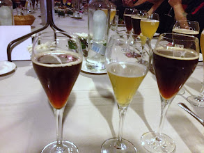 Photo: couldn't keep up with all the beer they poured at the Rodenbach dinner!