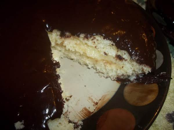 Super Moist, Rich, Boston Cream Pie