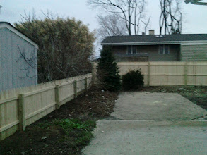 Photo: New Fence After Sandy Bellmore, NY