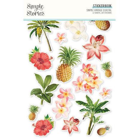 Simple Stories Sticker Book 4X6 12/Pkg - SV Coastal