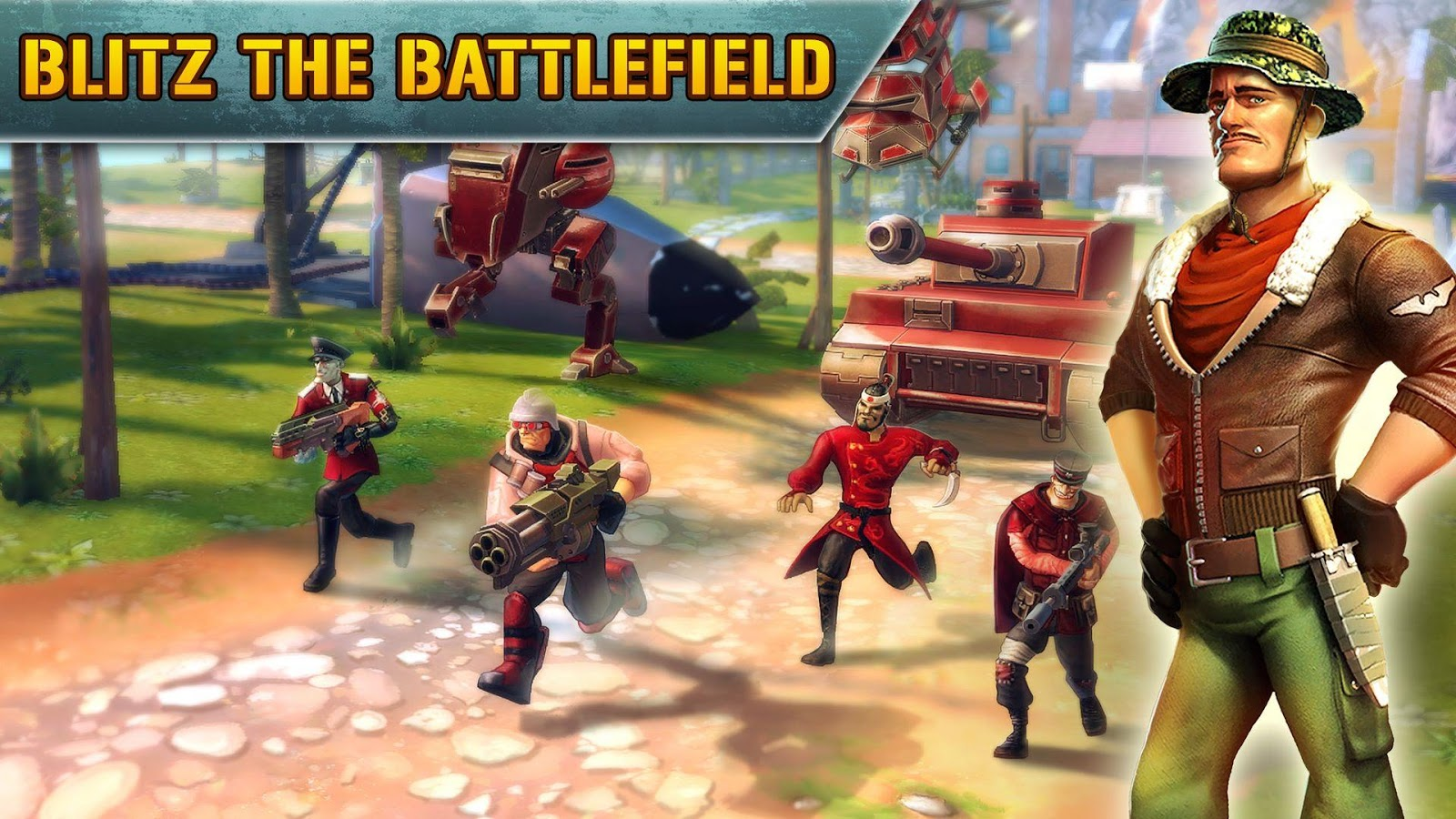 Screenshots of Blitz Brigade - Online FPS fun for iPhone