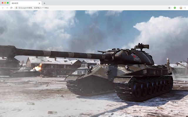 World of Tanks Popular Games HD Themes